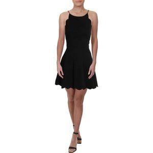NWT Necessary Objects Black Sleeveless Mini Dress